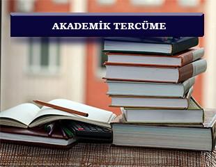 Etkin Tercüme Tez, akademik makale, araştırma yazıları ve ders kitapları gibi konuları içeren bu tür çevirilerde profesyonel ve kaliteli tercümanlarla hizmet sunmaktadır..